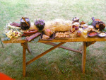 Imprezy okolicznościowe - wiejski stół