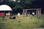 Zabawy rodzinne w gospodarstwie agroturystycznym
